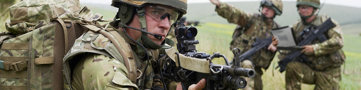 Military - soldiers in action